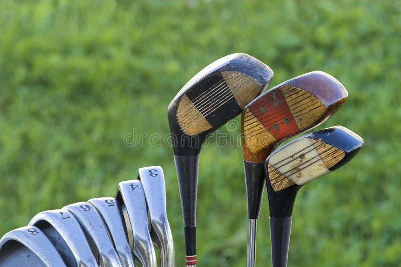 Golfbeutel lizenzfreie stockbilder