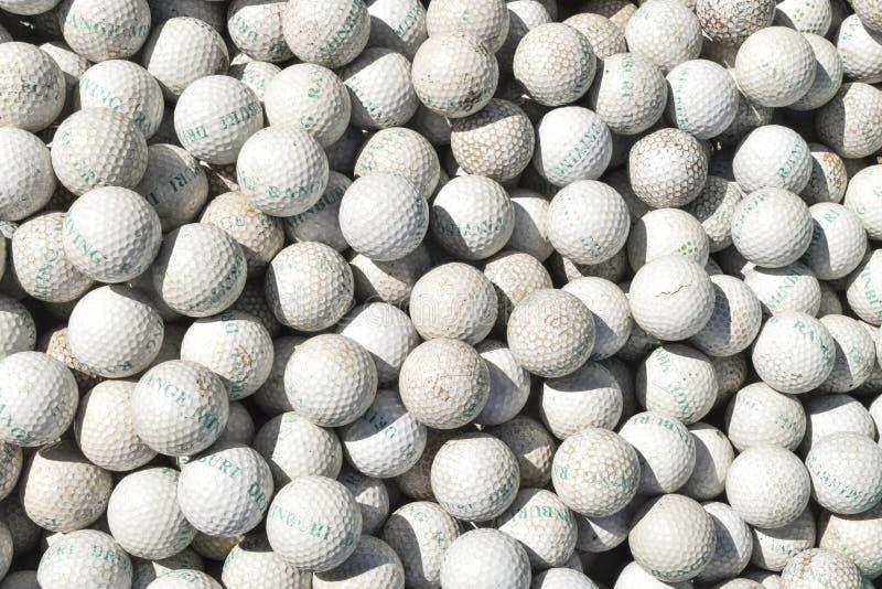 Golfbollhög royaltyfri fotografi