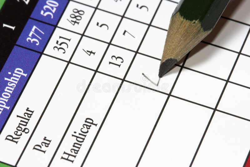 Golfcard3 stockbild
