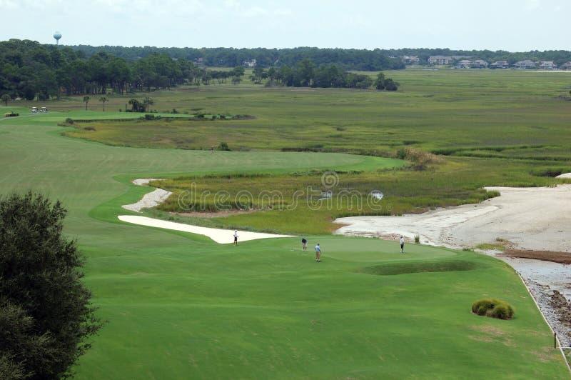 Golfclub royalty-vrije stock foto's
