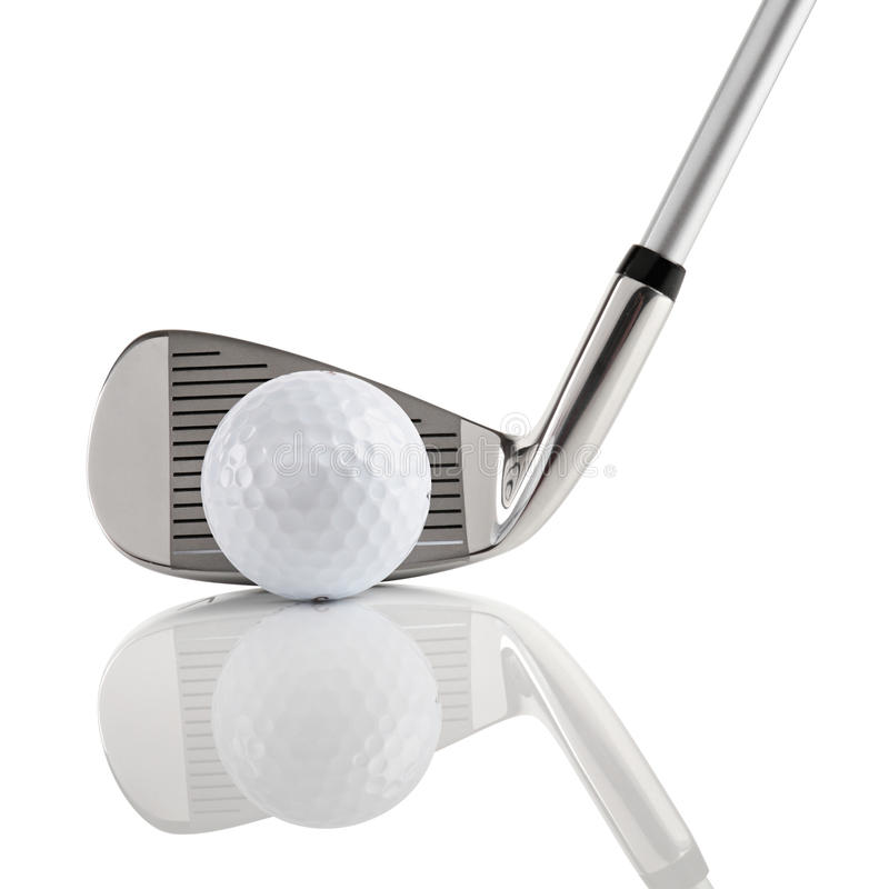Golfclub 2 royalty-vrije stock afbeeldingen