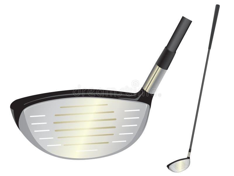 Golfclub vector illustratie