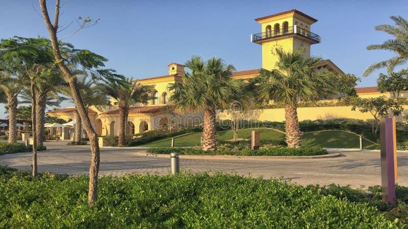 Golfclubhaus im Mittlere Osten stockfotografie