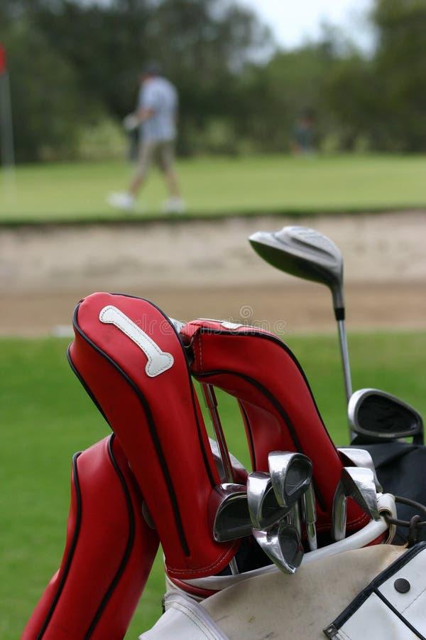 Download Golfclubs 1 stock afbeelding. Afbeelding bestaande uit golfspeler - 294597