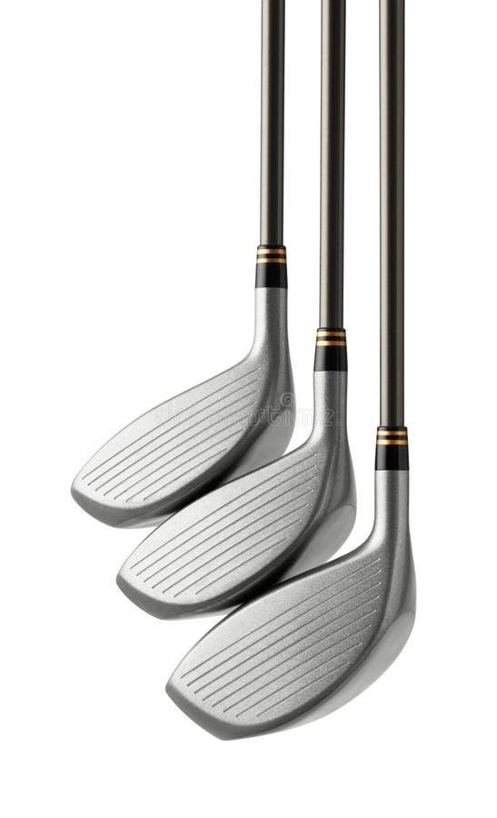 Golfclubs stock afbeelding