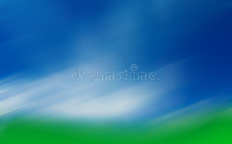 golfcourse нерезкости стоковые фотографии rf