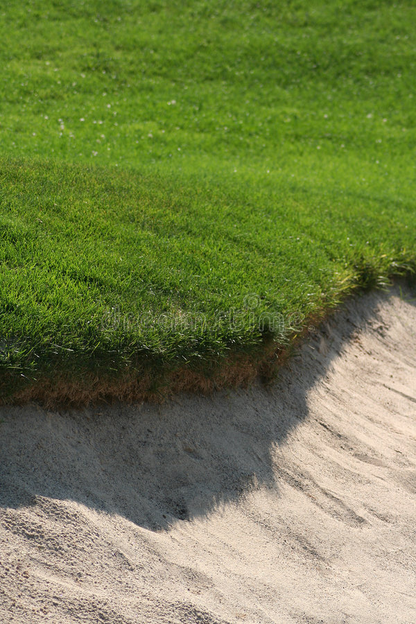 Free Golfcourse Sandtrap Royalty Free Stock Photos - 1137898