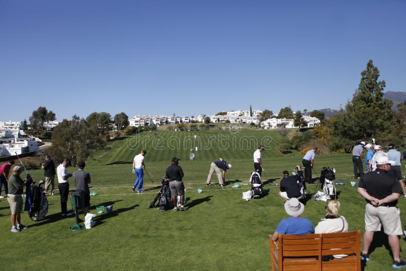 Golfe aberto, Marbella de Andalucia, Spain imagens de stock