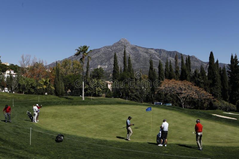 Golfe aberto, Marbella de Andalucia, Spain imagens de stock royalty free
