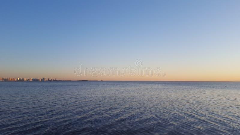 Golfe de finition St Petersburg images libres de droits