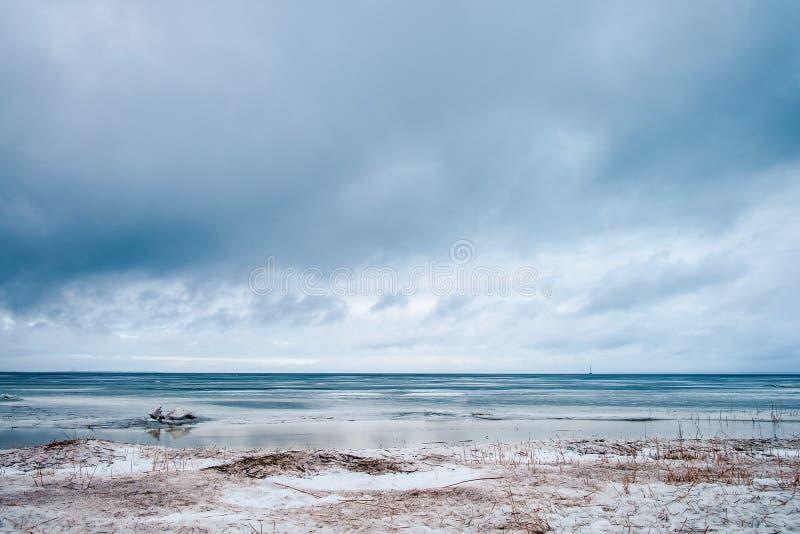 Golfe de la Finlande photo libre de droits