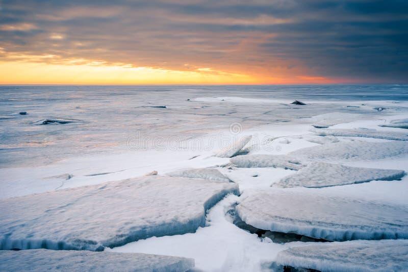 Golfe de la Finlande image stock