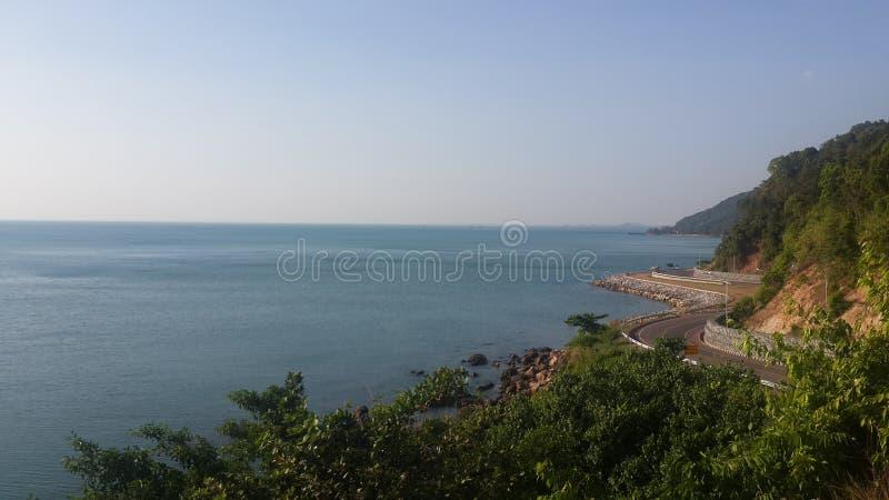 Golfe de la Thaïlande image libre de droits