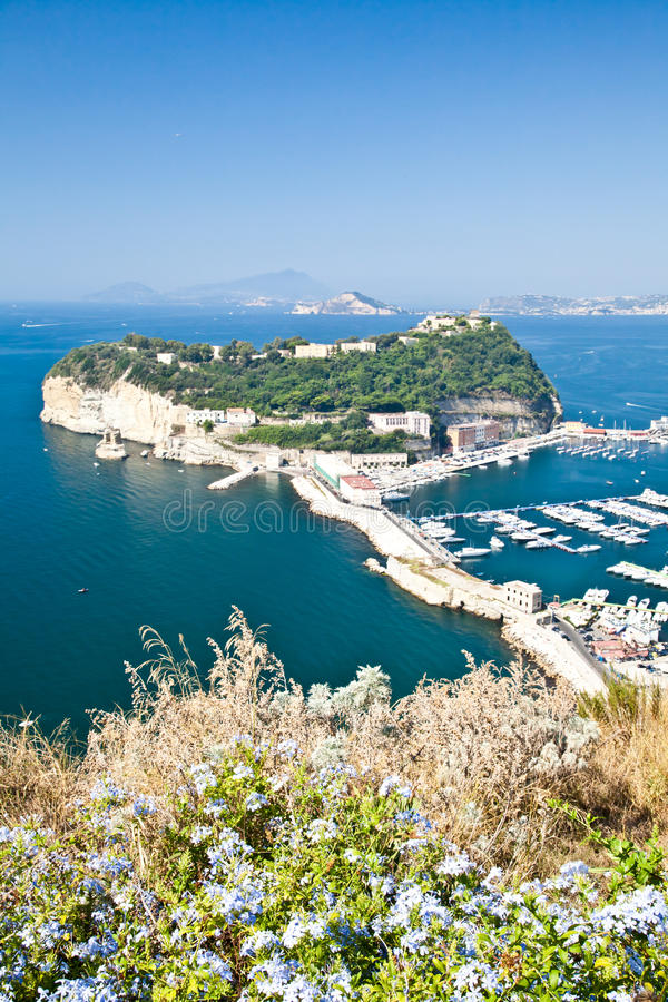 Golfe de Naples images libres de droits