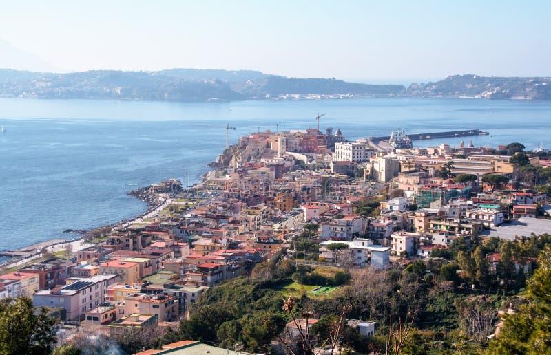 Golfe de Pozzuoli images stock