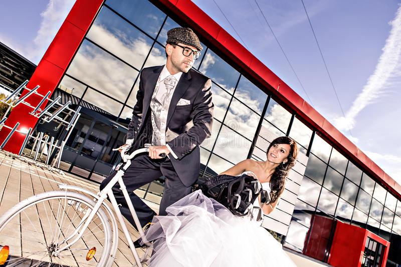 Golfe do casamento imagens de stock royalty free