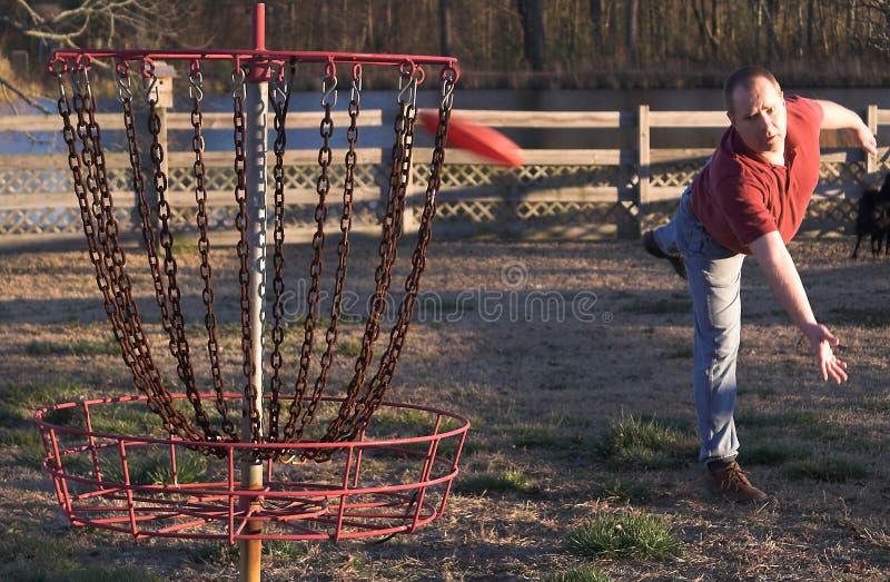 Golfe do disco fotografia de stock royalty free