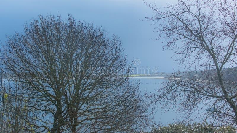 Golfe du Morbihan, en Bretagne image stock