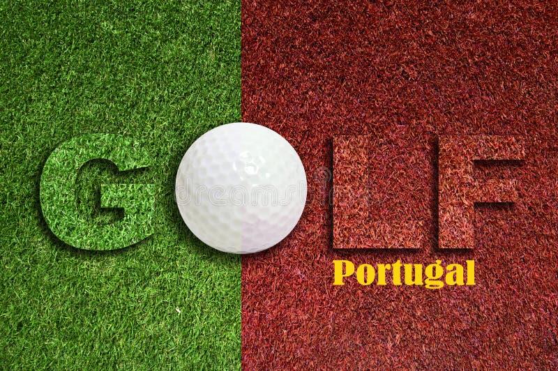 Golfe em Portugal fotografia de stock royalty free
