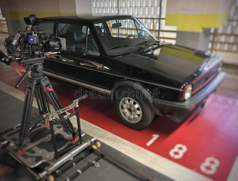 Golfe video GTI do tiro fotografia de stock