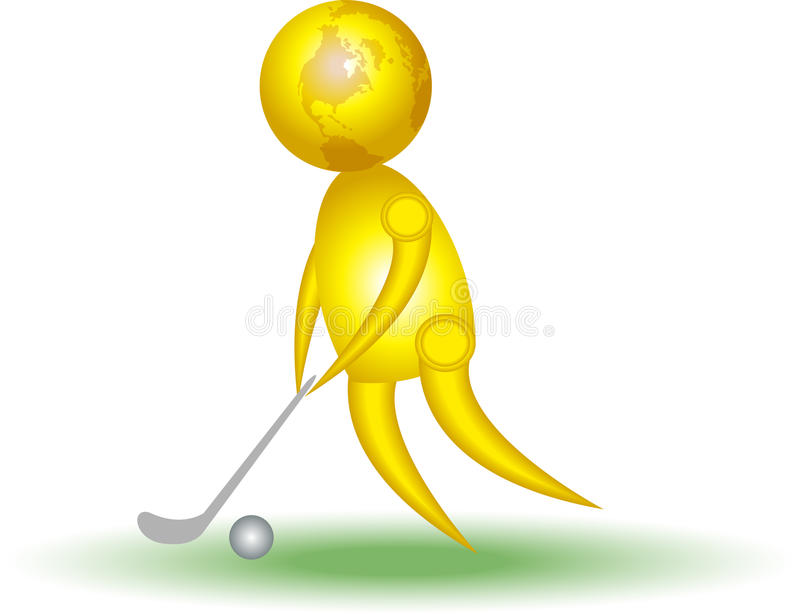 Download Golfer Stock Image - Image: 12296901