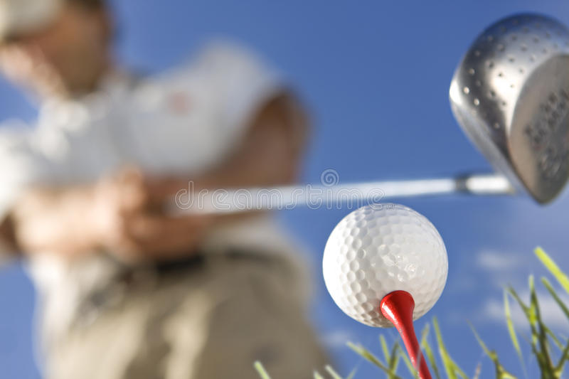 Download Golfer stock image. Image of angle, club, grass, golfer - 17209635