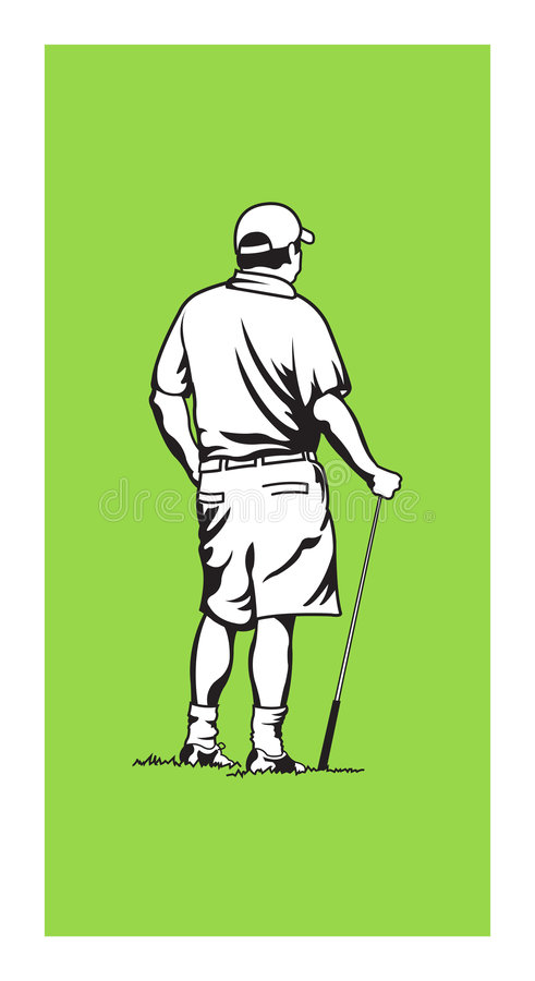 Free Golfer Royalty Free Stock Photography - 1936877
