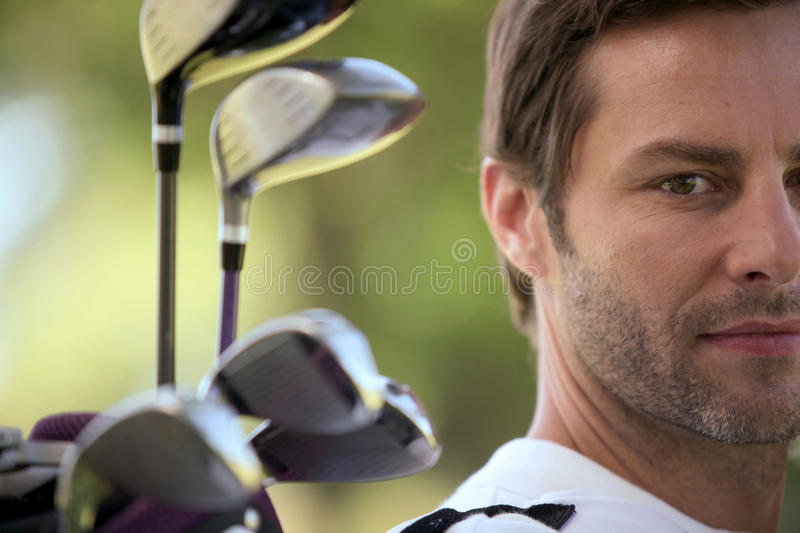 Download Golfer stock photo. Image of outside, leisure, looking - 20866838
