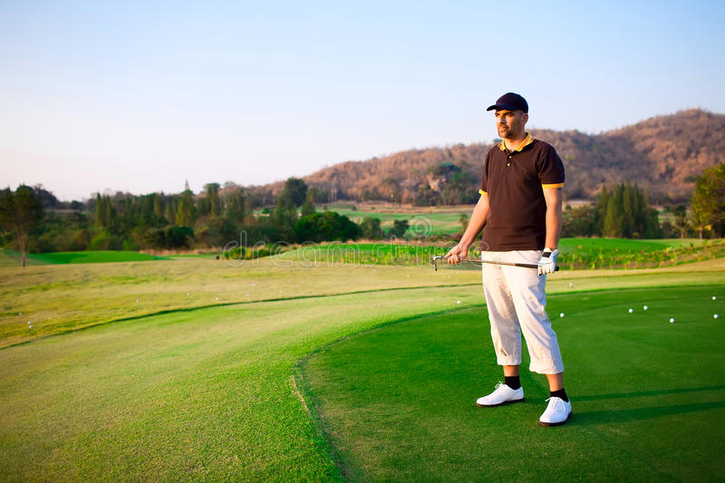 Download Golfer stock image. Image of male, ball, color, outdoors - 22768715