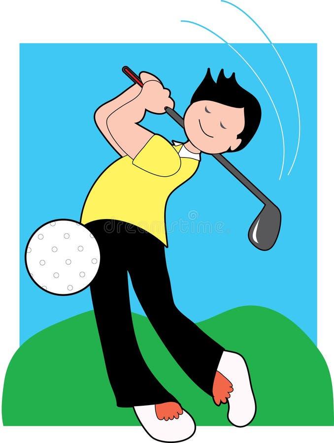 Download Golfer stock vector. Image of greens, fairway, grass, putter - 2307680
