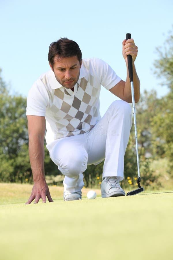 Download Golfer stock photo. Image of activity, career, back, light - 26793428