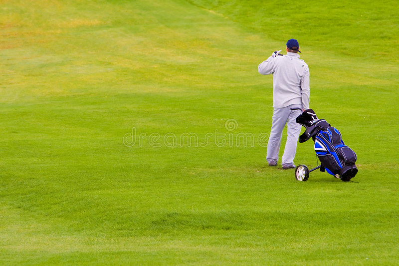 Download Golfer stock photo. Image of match, follow, course, outdoor - 3417840
