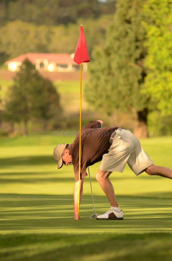 golfer στοκ εικόνες με δικαίωμα ελεύθερης χρήσης