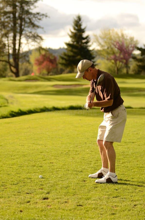 golfer στοκ φωτογραφία με δικαίωμα ελεύθερης χρήσης