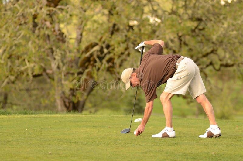 golfer στοκ εικόνα