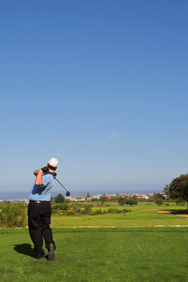 Download Golfer #68 stock photo. Image of golf, flag, male, pitch - 960972