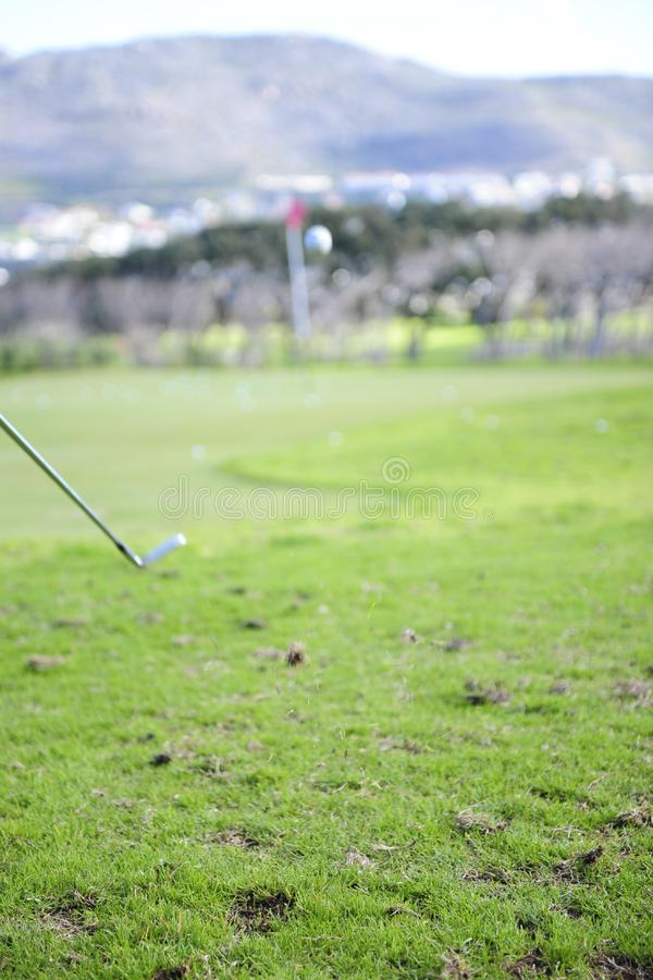Download Golfer in action stock image. Image of leisure, playing - 6478223
