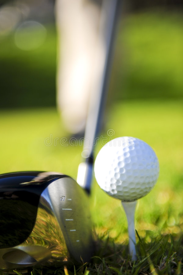 Download Golfer in action stock image. Image of sport, course, sportsman - 6701977