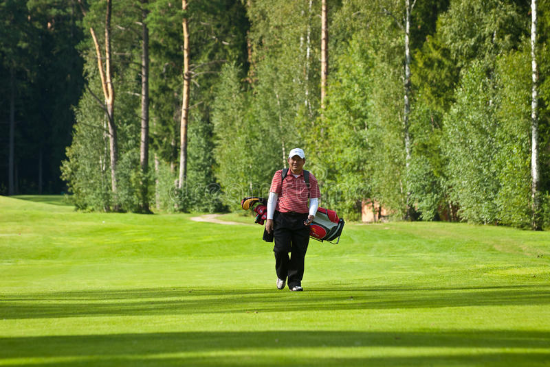Download Golfer From Jupan On Golf Feeld Editorial Stock Photo - Image: 19059173