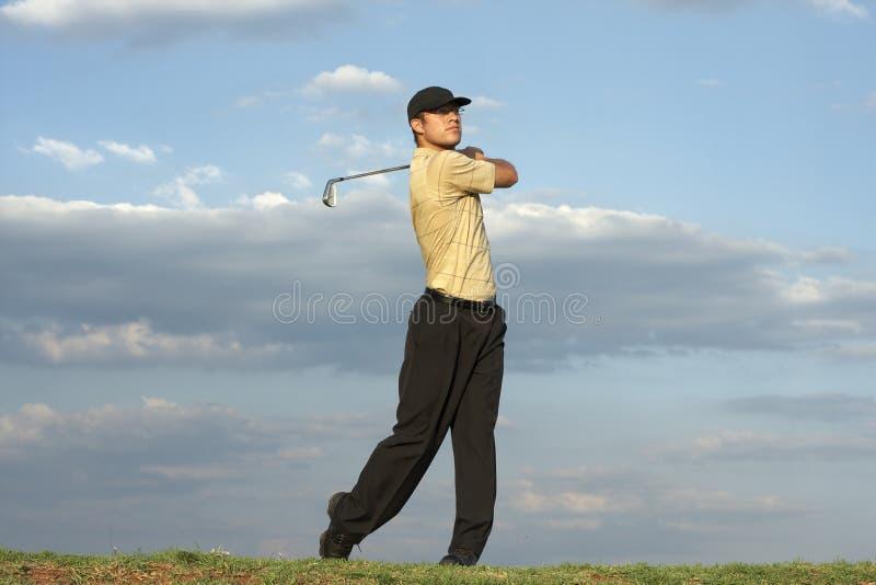 Golfer - Man stock photo