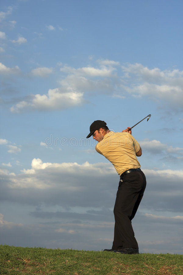 Golfer - Man royalty free stock photos