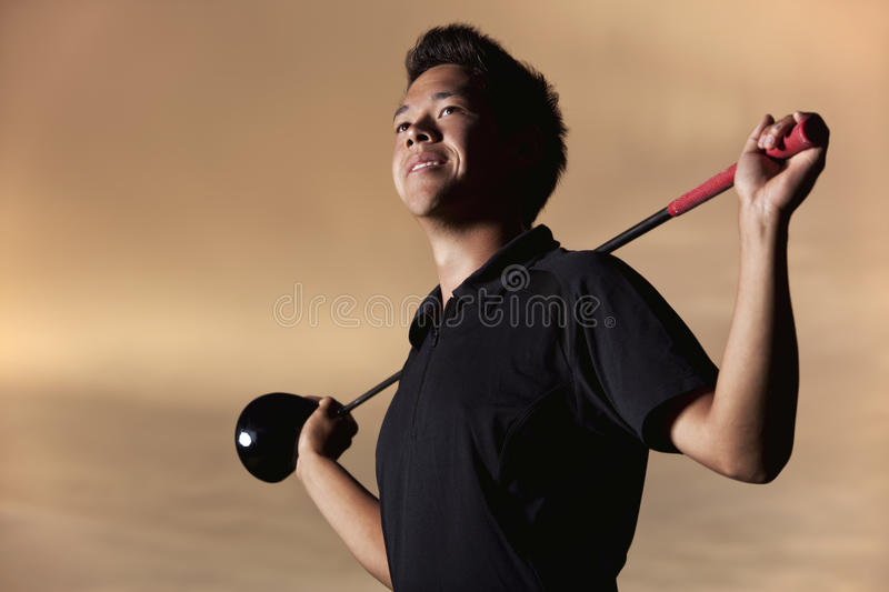 Download Golfer portrait stock photo. Image of confidence, leisure - 22877840