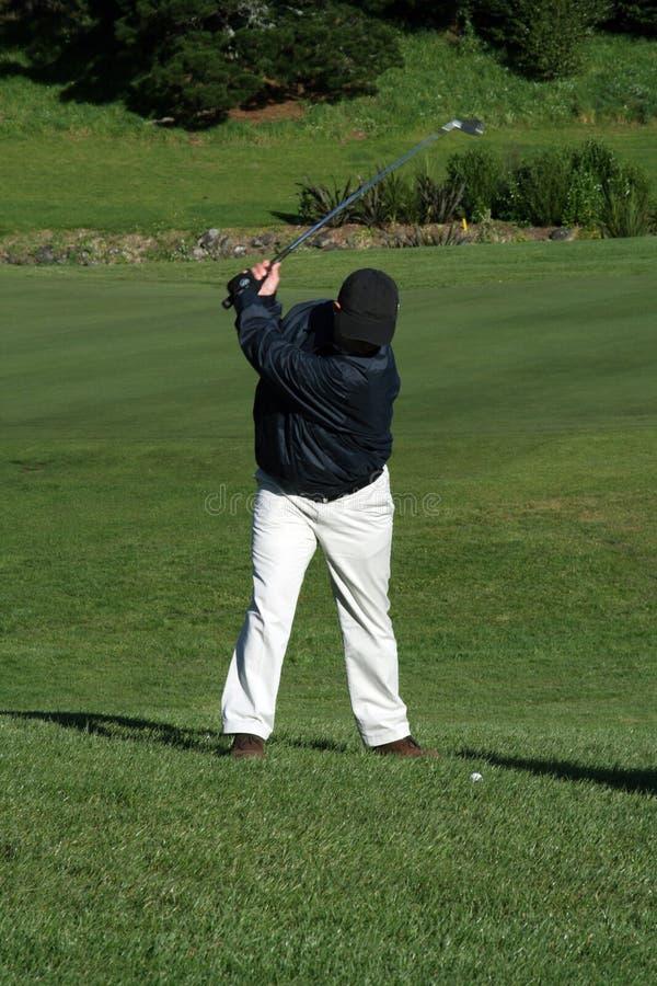 Download Golfer swinging stock image. Image of training, player - 1617279