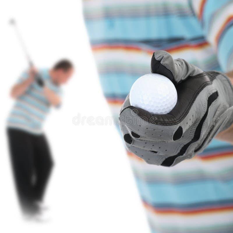Golfer1 photo libre de droits