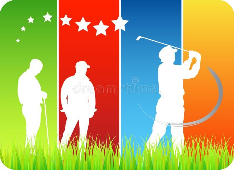 Download Golfers stock vector. Illustration of close, sunshine - 5099742