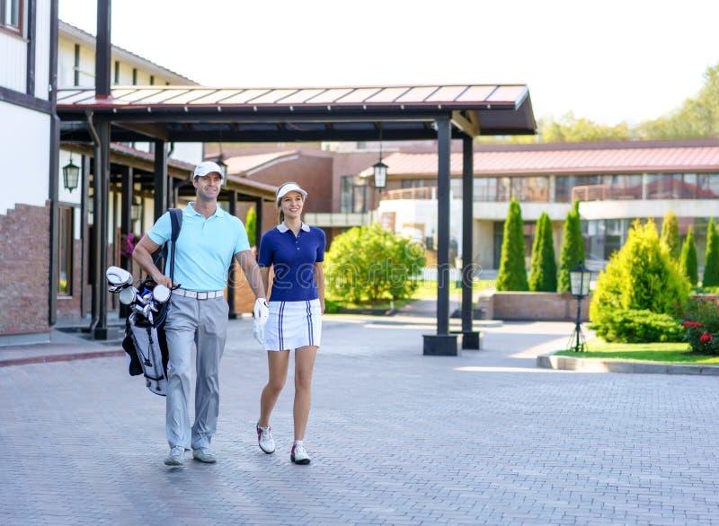 golfers στοκ εικόνες