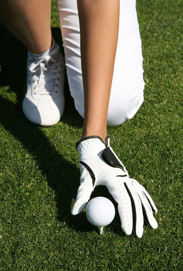 Golfeur photos stock