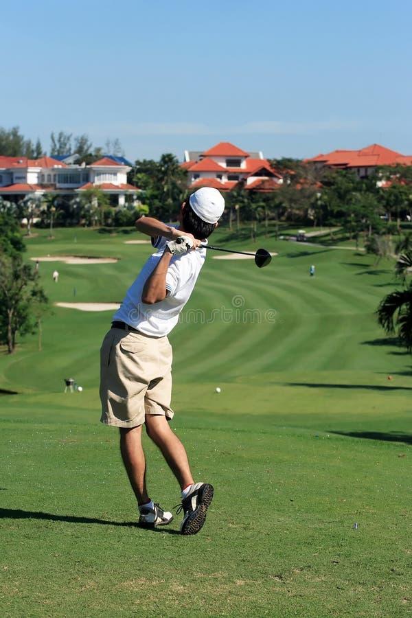 Golfeur photo libre de droits