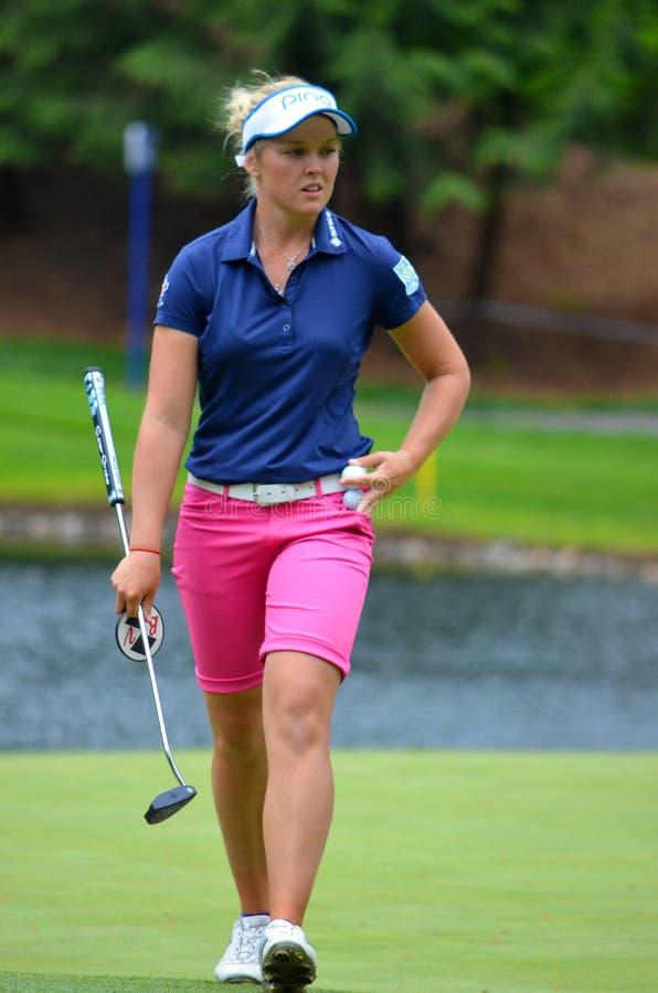 18 golfeur an 2016 de Brooke Henderson LPGA photos libres de droits