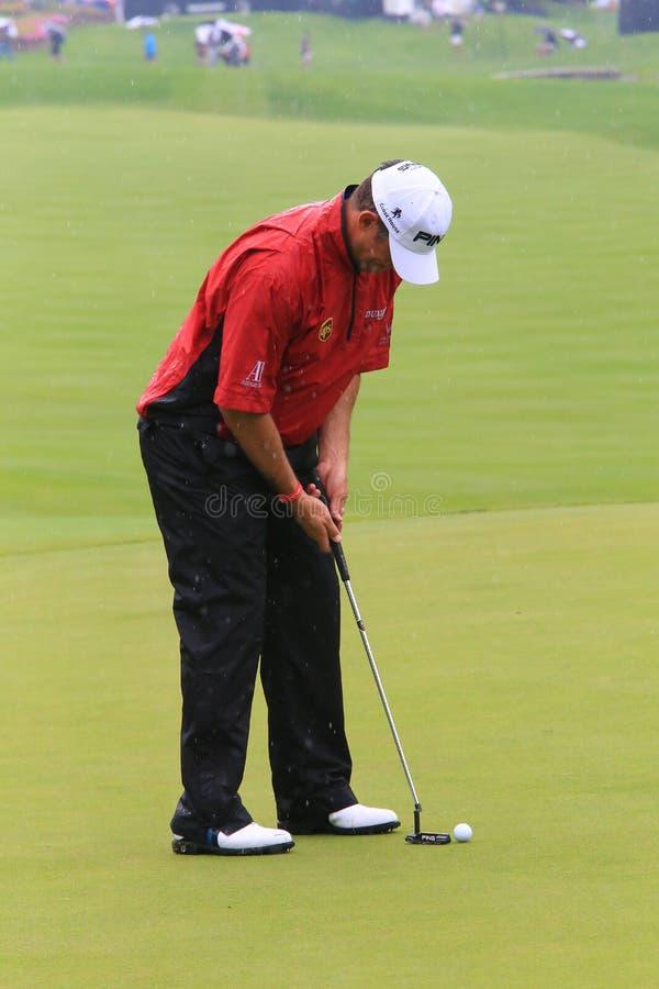 Golfeur Lee Westwood photos stock